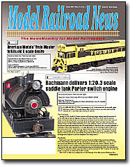 Model Railroad News (12 issues/12 months)