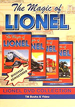 The Magic of Lionel 4 DVD Set