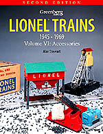 Greenberg's Guide to Lionel Trains 1945-1969 Volume 6 Accessories