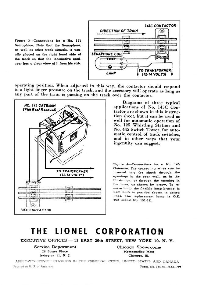 Lionel Trains 145
